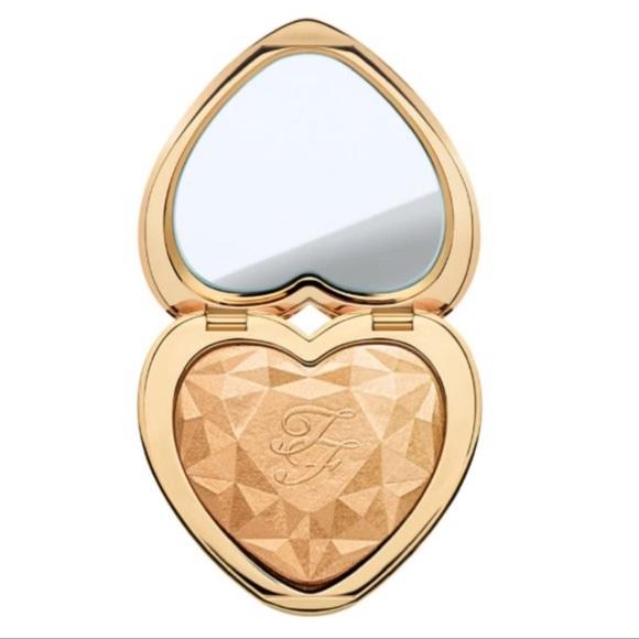 Too Faced Love Light Highlighter Makeup Gold Nwt